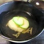 日本料理 鎌倉山倶楽部 - コーンのお吸い物