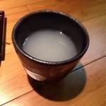 久庵 - 蕎麦湯