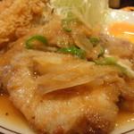 キッチンABC 池袋東口店 - 生姜焼き