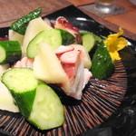 はせ茂 - 2013年5月 蛸と胡瓜のが年あえ