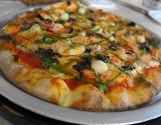 リストランテ ディ・カナレット - 2013年 シーフードのピザは薄めだった