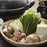 とりや 久兵衛 - 地鶏鍋(冬季)