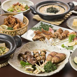 ♪各種宴会などに、飲み放題付きのお得なコース料理がございます