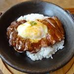 レストランHAMA - 卵ステーキ丼