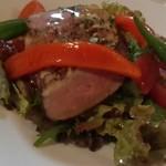 19384289 - 鴨の燻製サラダ