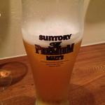 トスカネリア - 生ビール(840円)