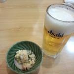 太助 - 生ビール&ポテサラ