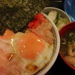 神戸らんぷ亭 - 目玉焼き丼にしてみた (2013年5月)