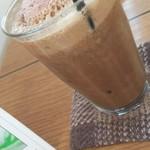 カフェ 崖の上 - コーヒーバナナシェイク