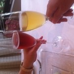 19388716 - 記念日ということでサービスして頂いたスパークリングワイン