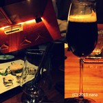 酒趣 柳浦堂 - スラッとしたグラスのカクテルは何なのか良くわかりません。笑