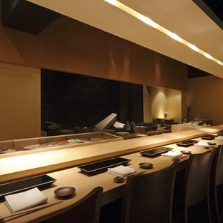 魚介類を中心とした寿司割烹