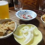 武蔵屋 - 最初の料理達
