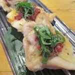 山田屋食堂 - 鶏の金串焼き 450円