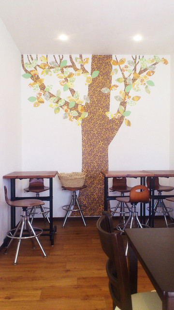 タイヨウコーヒー - かわいらしい店内です