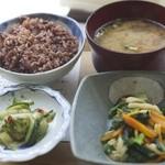 玄米カフェ - 黒米
