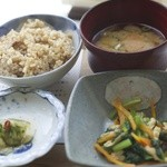 玄米カフェ - 玄米