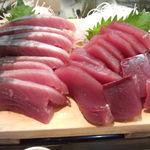 かわなみ鮨 - 鰹盛り