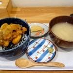 食事処さとう - 【2013/05】うに丼 500円
