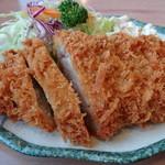 とんきん - ロースカツ定食 1300円