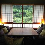 星のや 京都 - お部屋の中はこんな感じ