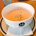 ミセス・マーコのアメリ感・アメリ館 - お代わりOKスープ