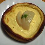 19401342 - 白桃のクリームチーズタルト