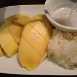 19401976 - マンゴーともち米のデザート