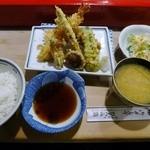 ひろみ鮨 - 料理写真:ランチの天ぷら定食