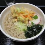 神楽坂 あい源 - かき揚げそば 510円