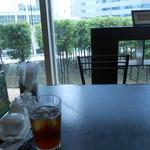 杏梨 チャイニーズキッチン - テーブル席からの眺めが良い