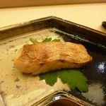 鮨 生粋 - ノドグロの一夜干し・・脂がのり美味しいノドグロです。