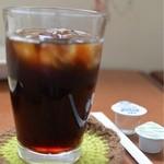 キッチンハウス ニキニキ - ランチセットソフトドリンク、アイスコーヒー