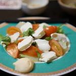 樽見 - フルーツトマトのサラダ