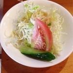 洋食屋ゆうき - ランチサラダ