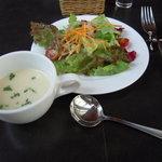 1941473 - サラダ&スープ(じゃが芋)