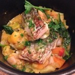 Le Vert Frais - サワラと夏野菜のスープバジル風味