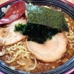 屯ちん亭 - 【再々訪】魚豚ラーメン(680円) +大盛(無料)