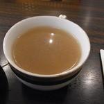 Cafe& Restaurant OASIS - サラダバーにあるコンソメスープ