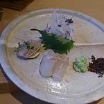 鮨 田なべ - エンガワとヒラメ
