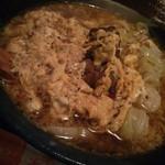 侍 - 料理写真:かるびうどん