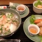 ニャー・ヴェトナム - 屋台風ランチセット