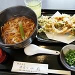 茶屋町・一煎 - かき揚げうどん(630円) 茶屋町一煎