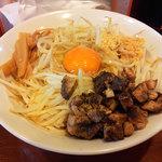 麺屋 御神本 - まぜ玉(全卵)