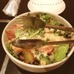 丁稚 - コースのサラダ