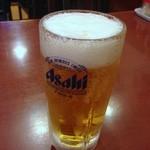 グリルフジサワ - 生ビール450円