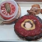 8cafe hamburger - プレミアムバーガーランチ980円