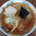竹駒 - 竹駒 中華そば 350円 2013年6月