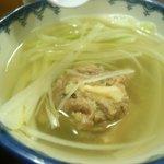 味太助 - テールスープ(B定食)