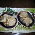丸萬亭 - 大アサリの焼物